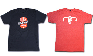 NAVY SHIELD & COW SKULL T-SHIRTS